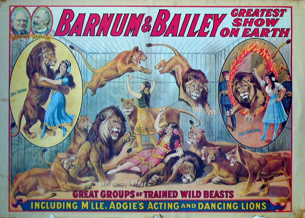 Happened on My Birthday: Barnum & Bailey's Greatest Show on Earth Opens