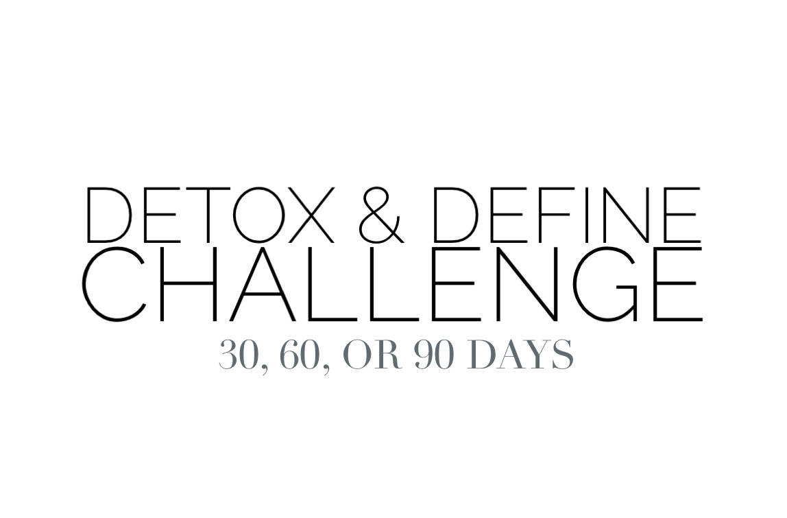 90 Day Detox and Define Challenge